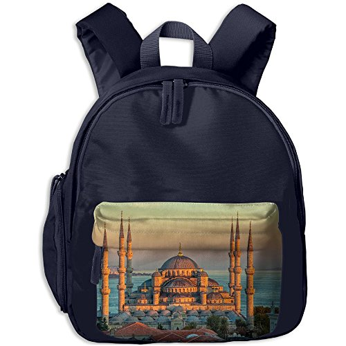 Ahmed Mosque Sultan (Sultan Ahmed Mosque Turkey Istanbul Sunrise Children Mini Backpack Pocket Zipper Outdoor Jansport Travel School Book Bag)