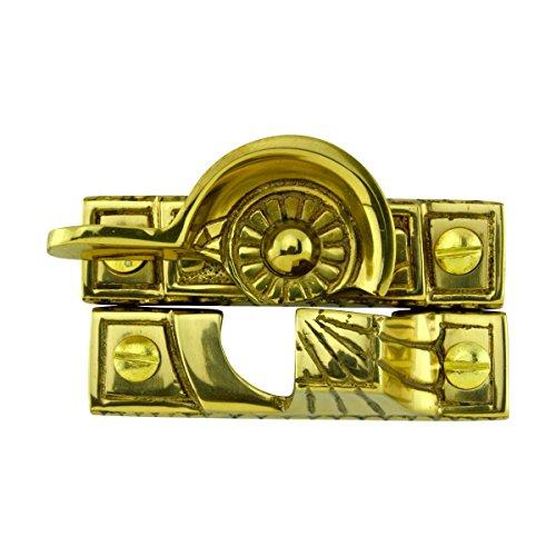 (Renovator's Supply Brass Window Sash Lock Imperial Unique Design Includes Hardware )