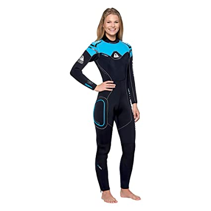 ed8161d454 Amazon.com  Waterproof Womens W50 5mm Backzip Stretchy Wetsuit ...