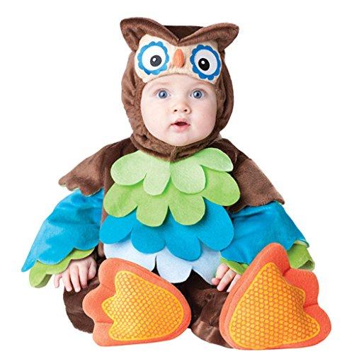 Dantiya Baby's Cartton Owl Romper Costume Photograph Prop 12-18M