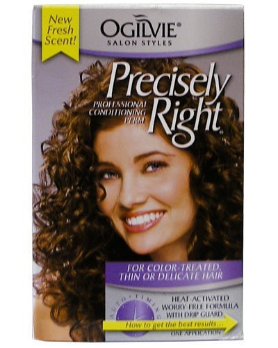 Ogilvie Precisely Right Perm: for Color-Treated Thin or Delicate Hair (Best Perm For Fine Thin Hair)