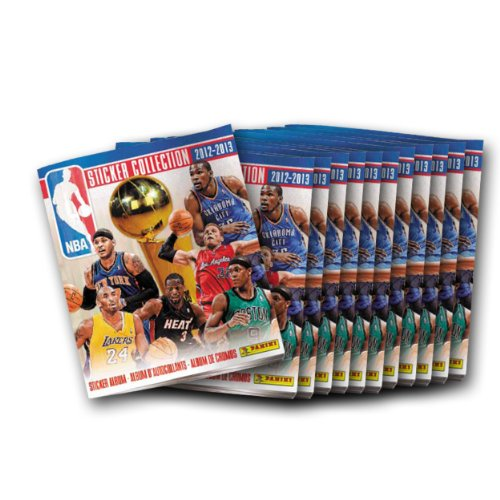 Panini 2012-13 NBA Individual Sticker Album by Panini