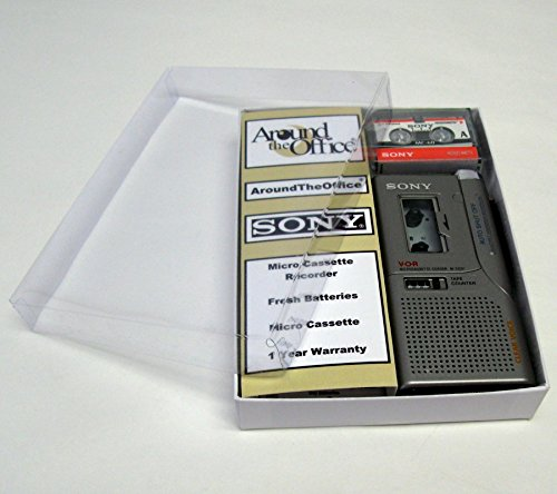 Price comparison product image Sony M-530V Microcassette handheld Voice Recorder Reboxed In Gift Box with Accessories