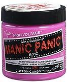 Manic Panic Semi-Permanent Hair Color Cream, Cotton Candy Pink 4 fl oz.