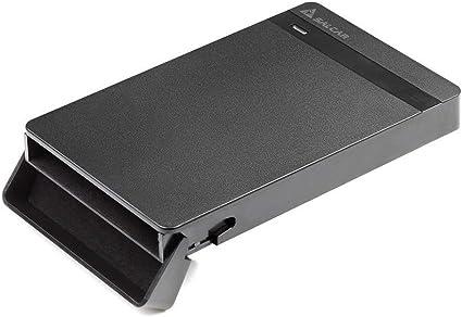 SALCAR Carcasa USB 3.0 para Discos Duros HDD SSD de 2.5