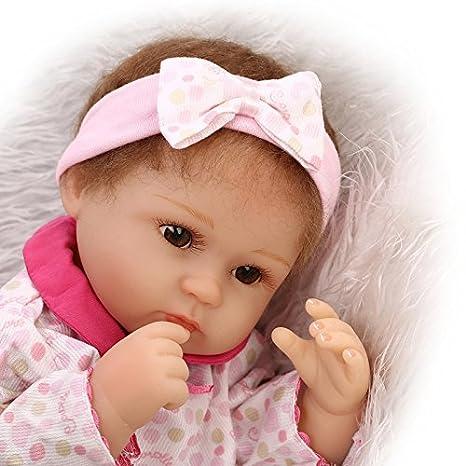 Amazon.com: Realista muñecas suave niñas juguetes Reborn ...