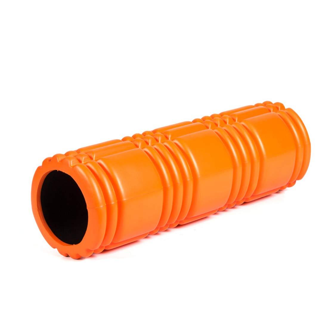【おトク】 Goen Burake ヨガコラム中空リング泡スティック筋肉リラクゼーションローラー泡軸深さマッサージ環境に優しいエヴァヨガ : (色 : 黒) オレンジ B07QXCFHCN オレンジ (色 オレンジ, CASSETTE PUNCH:527399cb --- arianechie.dominiotemporario.com