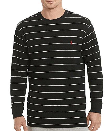 Polo Ralph Lauren Waffle Knit T-Shirt, L, Polo Black