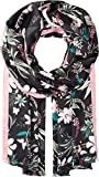 Kate Spade New York Women's Botanical Silk Oblong Black One Size