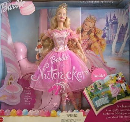 Amazoncom Barbie Nutcracker Sugarplum Princess Doll Book Giftset