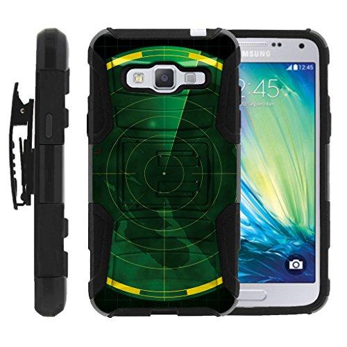 - TurtleArmor | Compatible for Samsung Galaxy J3 Case (2016) | J310 [Hyper Shock] Rugged Hybrid Hard Shell Kickstand Fitted Holster Belt Clip War and Military Design - Radar Map