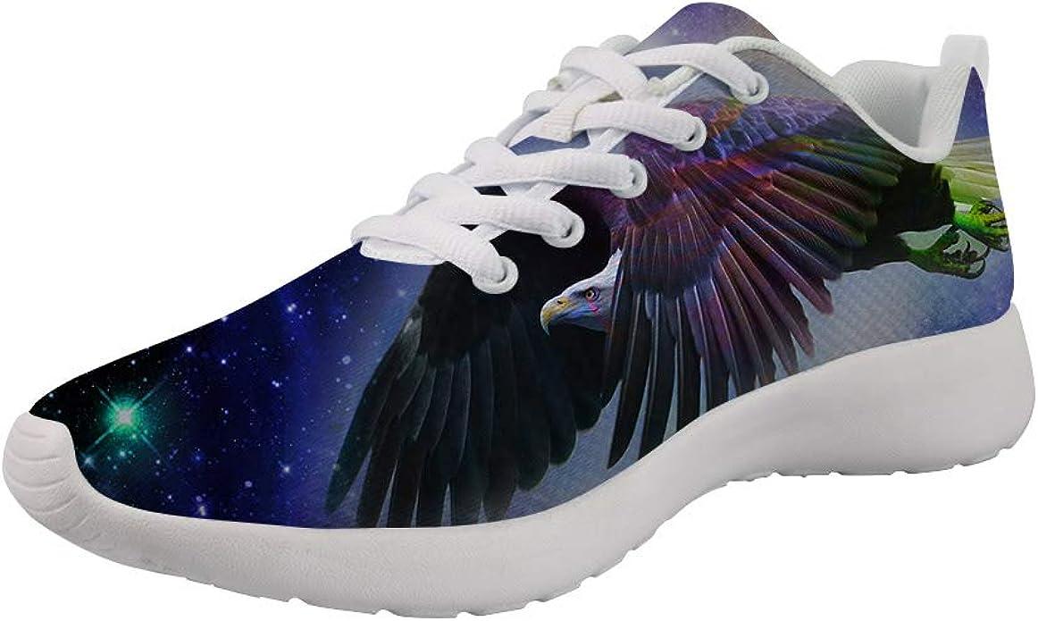 Dellukee Zapatillas de Correr Anchas para Hombre, Color águila ...