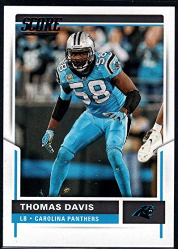 Football NFL 2017 Score #188 Thomas Davis Panthers