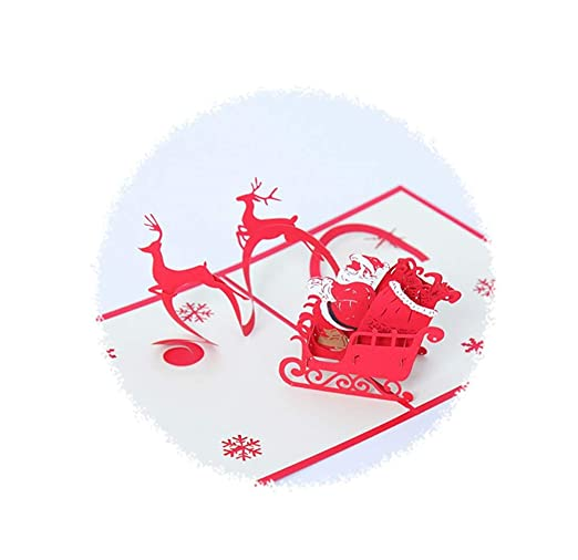 Taolichun-Navidad Tarjeta De Felicitación De Cumpleaños ...