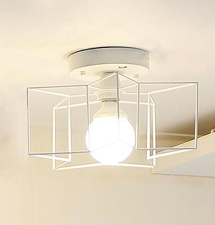 TOTO-hierro de la lámpara de techo dormitorio hueco ...