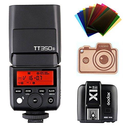 Godox Thinklite TTL HSS TT350S Camera Flash with X1T-S Trigger for Sony Mirrorless Camera High Speed 1/8000s GN60 for Sony DSLR Cameras a77II a7RII a7R a58 a99 ILCE6000L by Godox