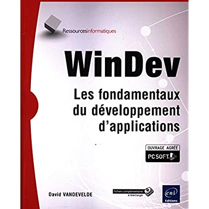 WinDev - Les fondamentaux du développement d'applications