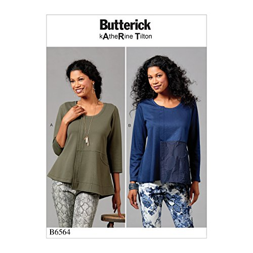 Butterick Patterns B6564ZZ0 Top Sewing Pattern