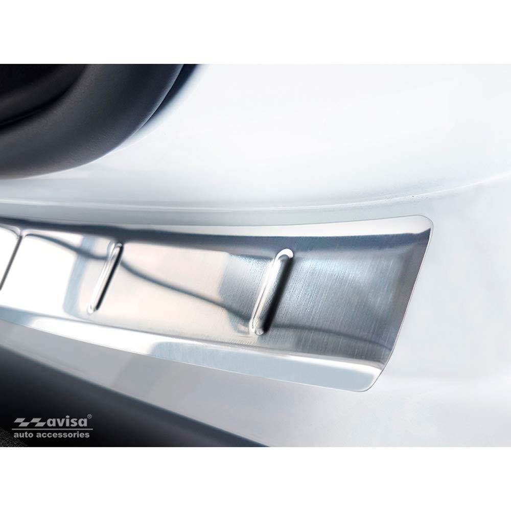 Protezione paraurti Posteriore in Acciaio Inox per Citro/ën C5 Aircross 2012 Avisa 2//35434