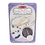 Melissa & Doug Jewelry Made Easy Semiprecious Stone Bead Bracelet-Making Set