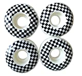 Everland esKape 52mm Skateboard Wheels (White Checker)