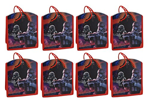 Star Wars Reusable 8-inch Party Favor Tote Bags, 8-Pack]()