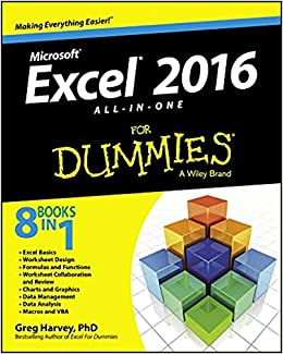 Excel 2016 All-In-One For Dummies: Amazon co uk: Greg Harvey