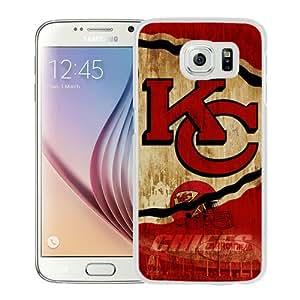 Hot Sell Kansas City Chiefs 21 White Samsung Galaxy S6 G9200 Phone Case