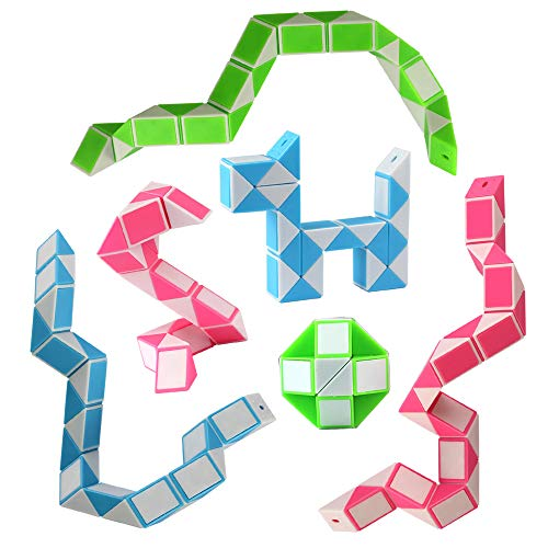 Nice Free Ship Cool Snake Magic Variety Popular Twist Kids Science Game Transformable Gift High Quality Educational Toy For Children Elegant Shape Home