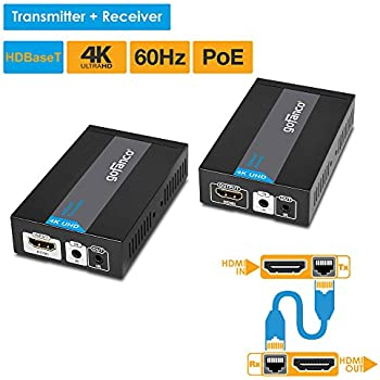 Amazon Com Sabrent Hdmi Extension Cable Over Cat5 6 Rj45