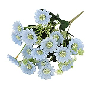 heaven2017 Artificial Daisy Flower Fake Plant Home Garden Wedding Photograph Decoration 120