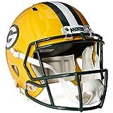 NFL Green Bay Packers Riddell Full Size Replica Speed Helmet, Medium, Green