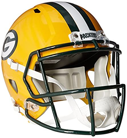 NFL Green Bay Packers Riddell Full Size Replica Speed Helmet, Medium, Green - Atlanta Falcons Helmet