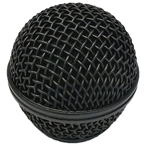 Performance Plus SM58 Style Black Mesh OEM Replacement Microphone Grille (MB58-B)