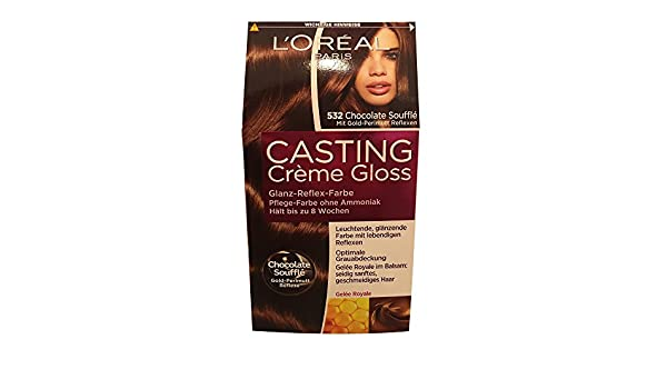 Amazon.com : L\'oreal Paris Casting Creme Gloss Hair Colourant 532 ...