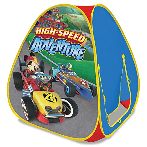 Playhut Disney Mickey and the Roadster Racers Classic Hideaway Play Tent