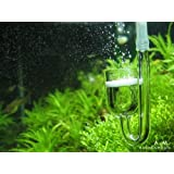 Rhinox Nano CO2 Diffuser -- Keeps aquarium plants healthy with CO2 injection - 3-minutes to setup - Works best with Pressurized CO2 tank - For Tank size under 20 Gallon