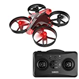 #5: Mini Beginner Drone for Kids, RC Nano Quadcopter with Altitude Hold - SanRock GD65 Upgrade Hovering Drone with Replaceable Engine