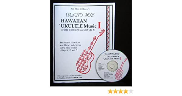 Hawaiian Ukulele Music Bookcd 1learn To Play And Sing Some Of