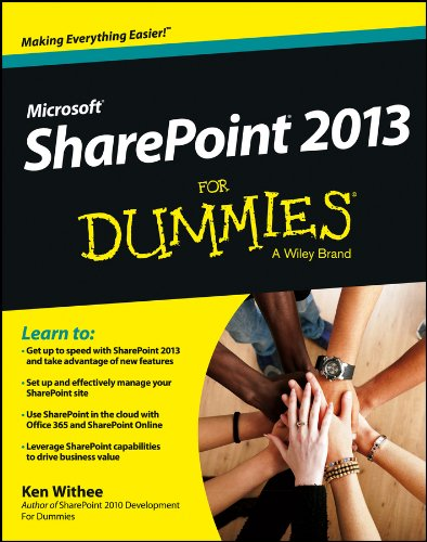 Book cover from SharePoint 2013 For Dummies by Ken Withee