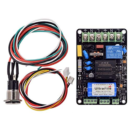 (Dlion 5V UPS Smart Power Monitoring Module Continued to Play Printing Automatically Put Off Management Module for 3D Printer Part)