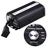 NEW 250W Electronic Dimmable Hydroponic Indoor Grow Light Hydro Ballast Control
