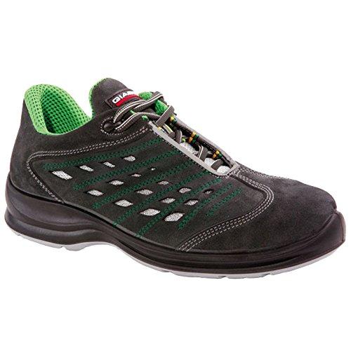 Giasco - Calzado de protección para hombre multicolor negro/verde 40