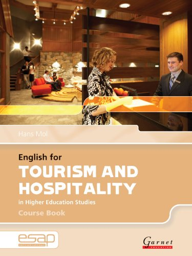 English for Tourism and Hospitality Course Book + CDs (English for Specific Academic Purposes) by Garnet Education