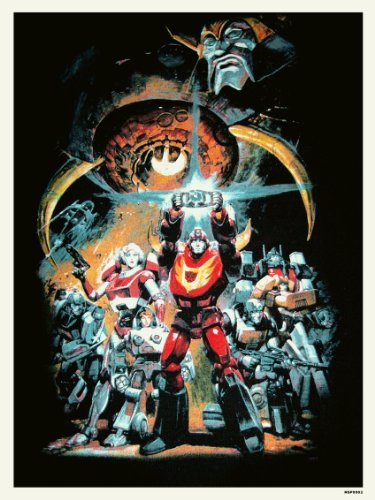 Transformers The Movie Poster Art Print (MSP002) by onthewall