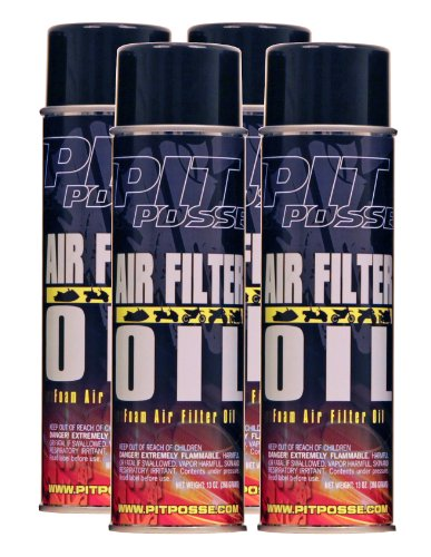 pit-posse-pp3237-12-12-13-oz-cans-of-foam-air-filter-oil-motorcycle-atv-dirt-bike-made-in-usa