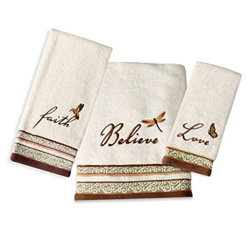 Saturday Knight Inspire Towel Set (Bath, Hand, Fingertip) by Saturday Knight