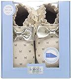 Robeez Baby-Girl's Premium Leather Moccasins Crib