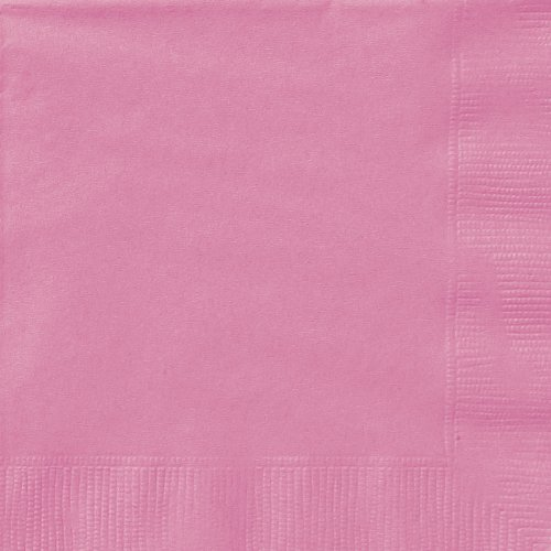Hot Pink Paper Napkins, 20ct