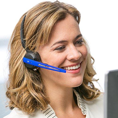 Sennheiser OfficeRunner Wireless Headset with Microphone, Blue by Sennheiser (Image #4)